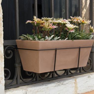 resin window box mysia tobacco colour