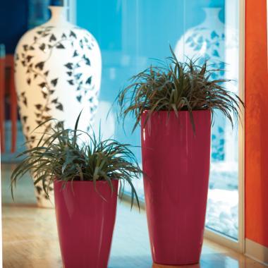 vasi in resina tylus e talos gloss colore cremisi 1